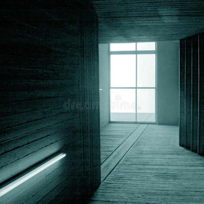 Interiore Contemporaneo Fotografia Stock