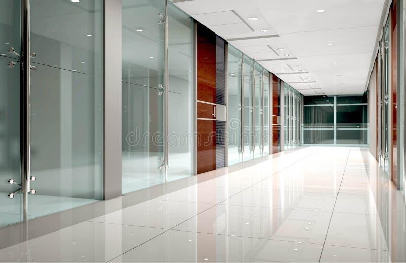 Interiore del corridoio illustrazione vettoriale