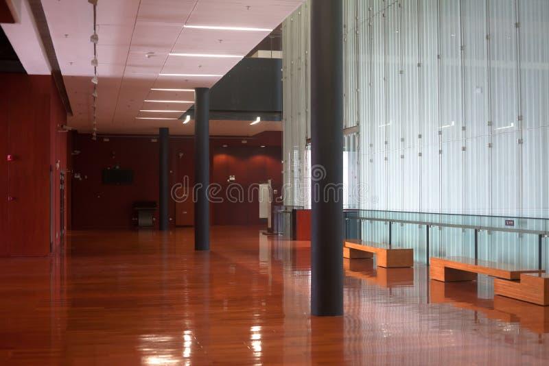 Interiore del museo del Guangdong fotografia stock