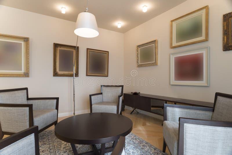Interiore del salone immagine stock