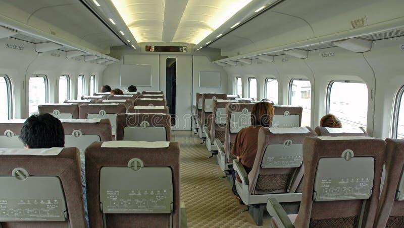 Interiore Del Treno Fotografia Stock