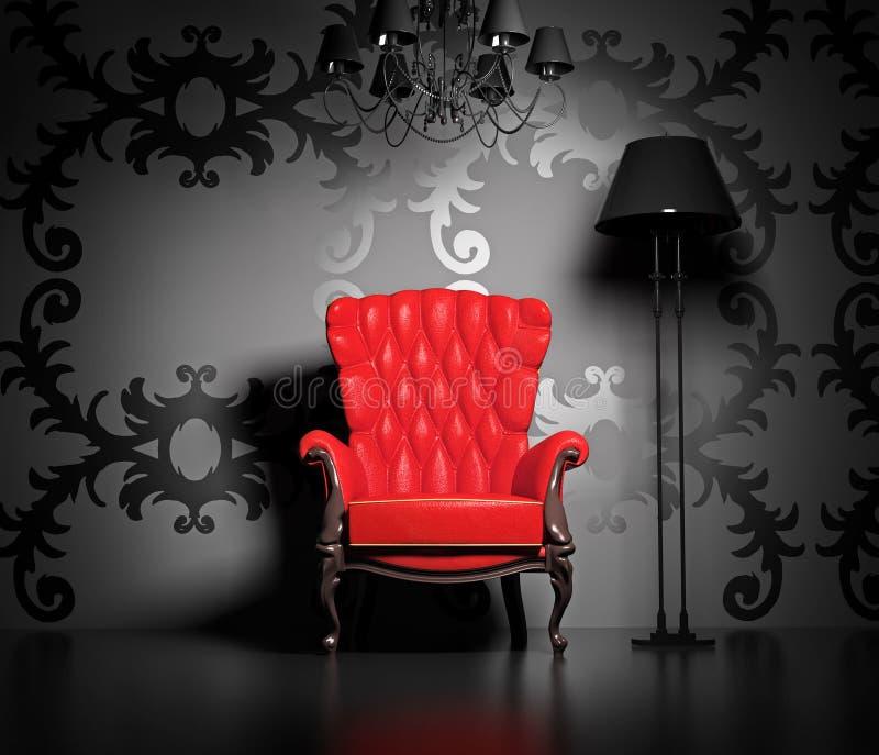 Interiore dell'annata royalty illustrazione gratis