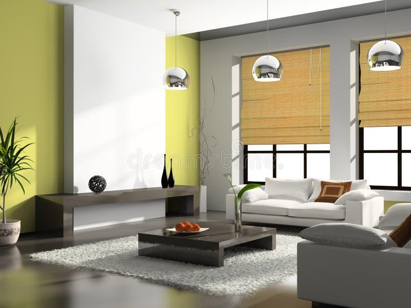 Interiore dell'appartamento illustrazione di stock