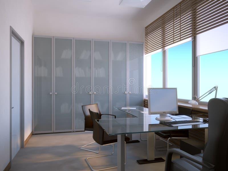 Interiore dell'ufficio royalty illustrazione gratis