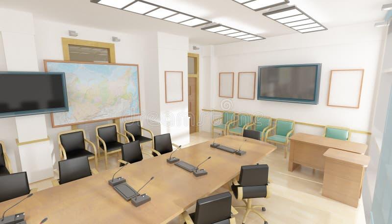 Interiore dell'ufficio illustrazione vettoriale