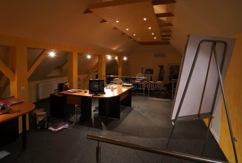 Interiore dell'ufficio fotografie stock libere da diritti