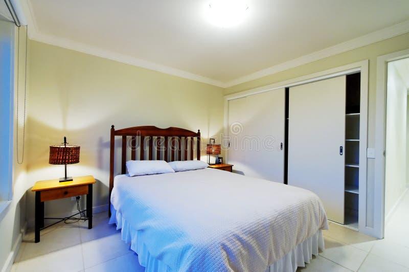 Interiore della camera da letto matrice fotografia stock