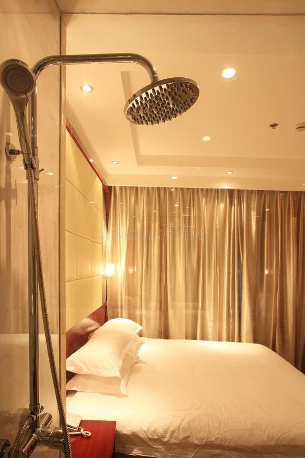 Interiore della camera di albergo fotografie stock libere da diritti