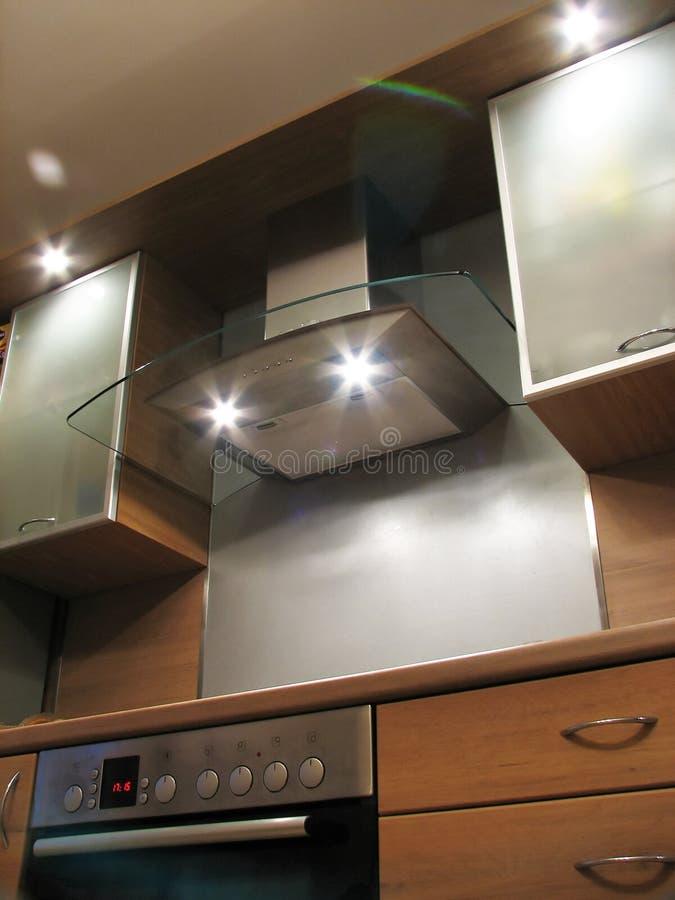 Interiore della cucina moderna fotografia stock libera da diritti