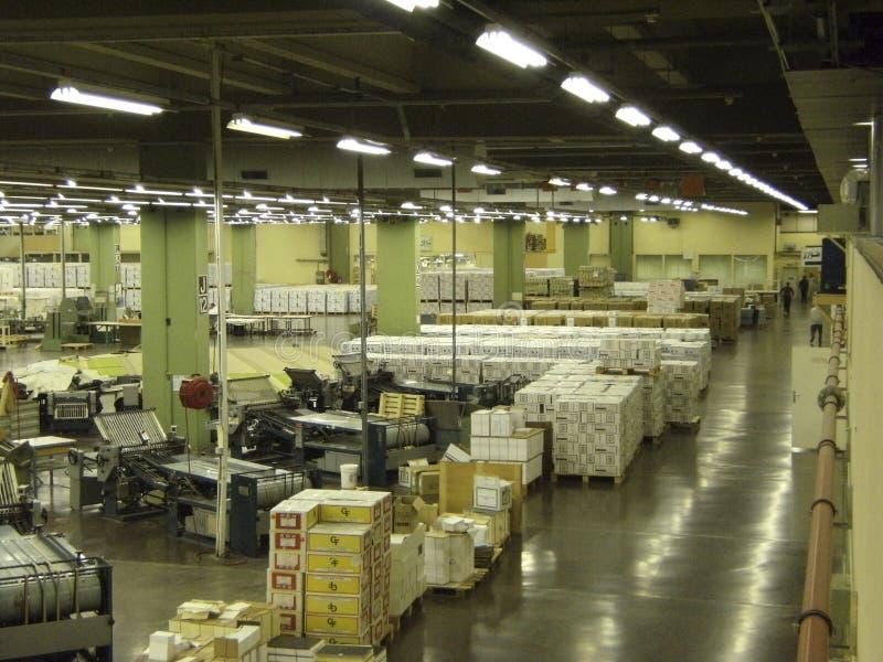 Interiore della fabbrica di koran (Quran) fotografia stock libera da diritti