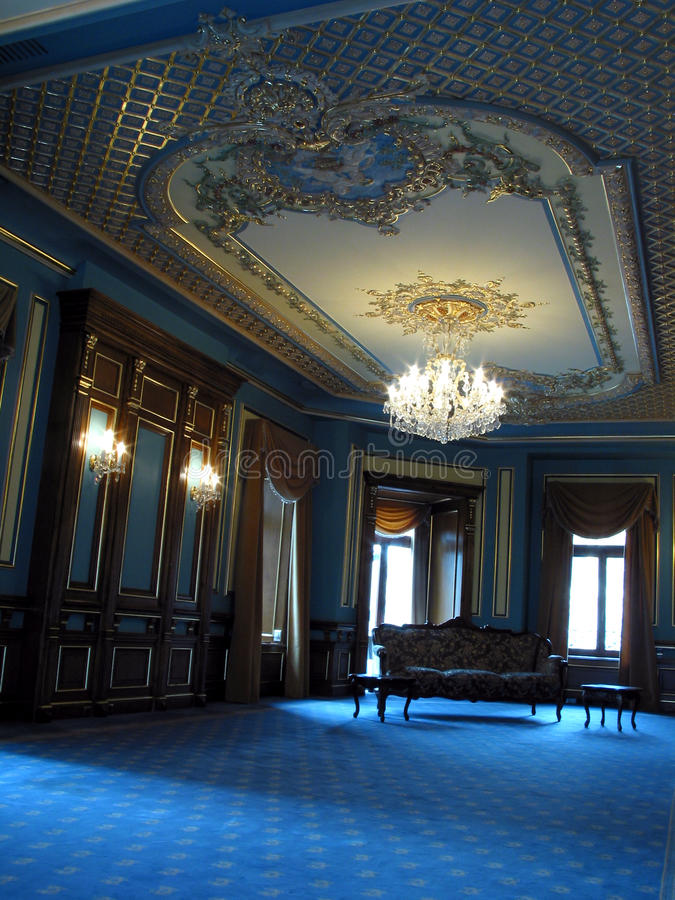 Interiore della stanza fotografia stock