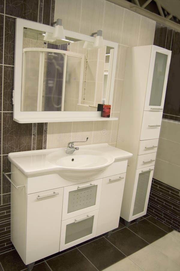 Interiore della stanza da bagno fotografia stock