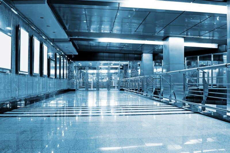 Interiore della stazione di metropolitana fotografia stock libera da diritti