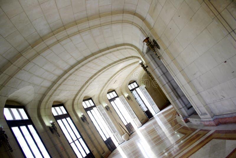 Interiore di Capitolio fotografie stock libere da diritti