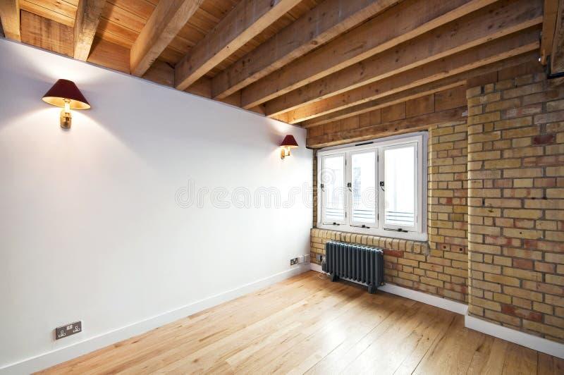 Interiore di conversione del magazzino fotografia stock