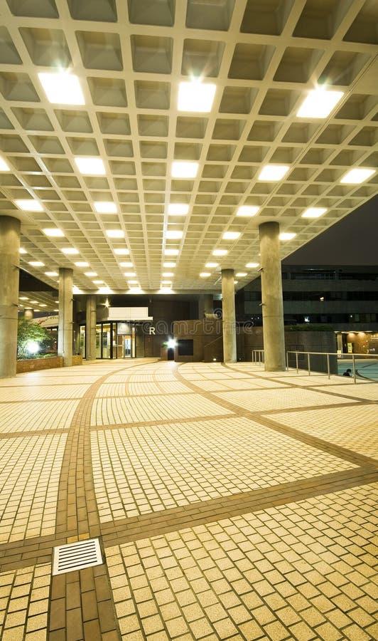 Interiore di disegno moderno del corridoio, corridoio. immagini stock