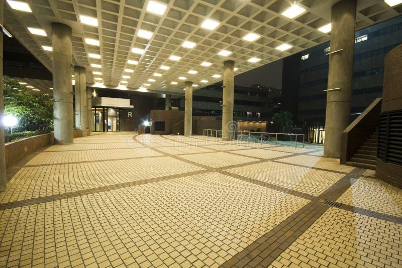 Interiore di disegno moderno del corridoio, corridoio. immagini stock libere da diritti