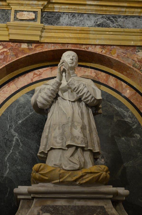 Interiore di Duomo di Monreale, Sicilia immagini stock