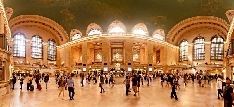 Interiore di grande stazione centrale a New York City immagini stock