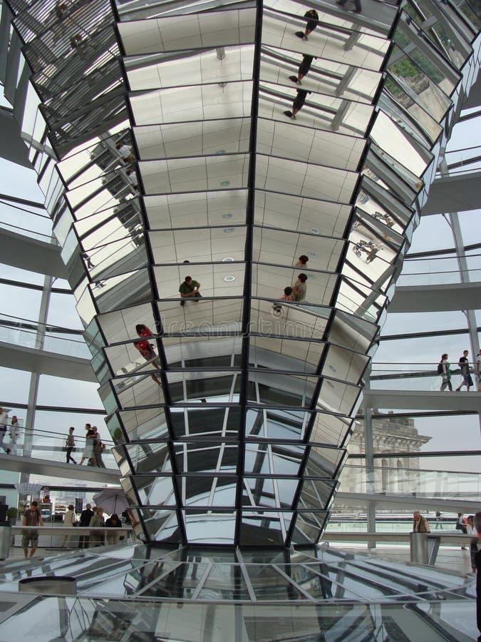 Interiore di Reichstag immagini stock libere da diritti