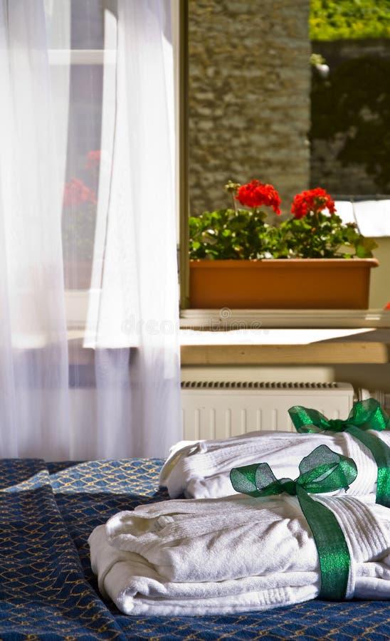 Interiore di una camera di albergo fotografie stock libere da diritti