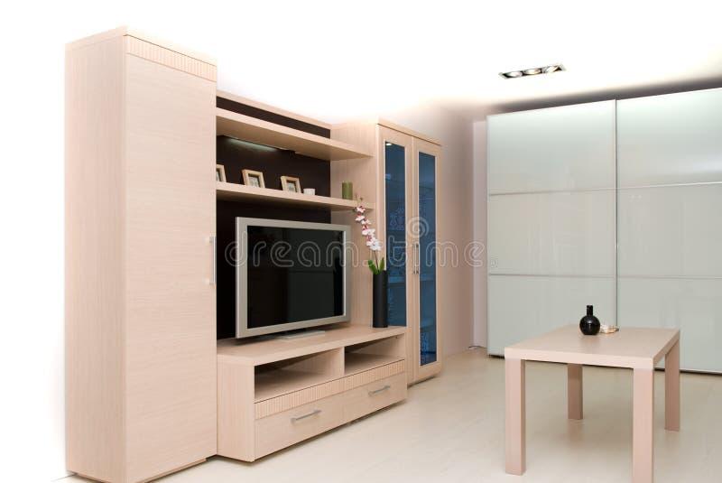 Interiore di una stanza immagini stock libere da diritti