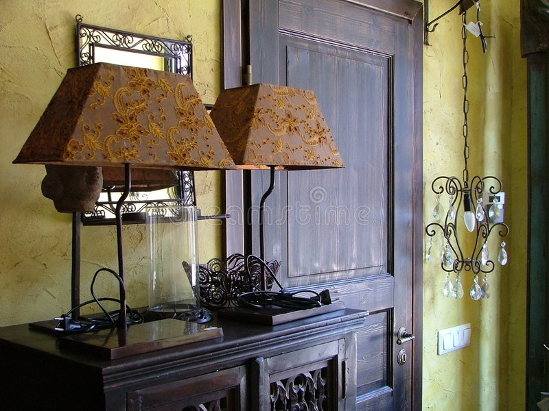 Interiore domestico fotografie stock libere da diritti