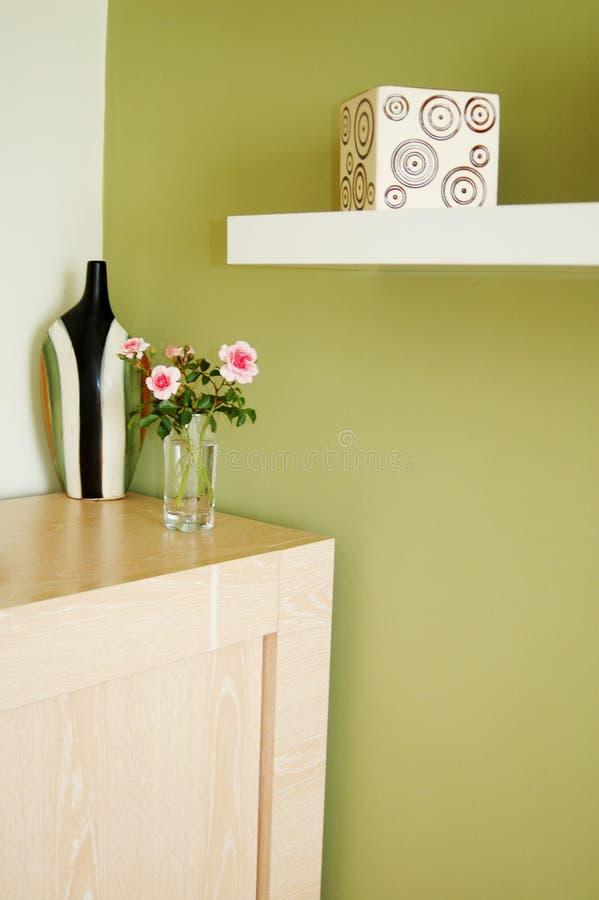 Interiore domestico fotografie stock