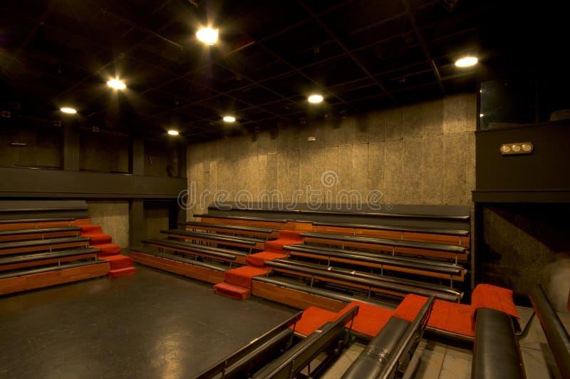 Interiore famoso del teatro immagini stock libere da diritti