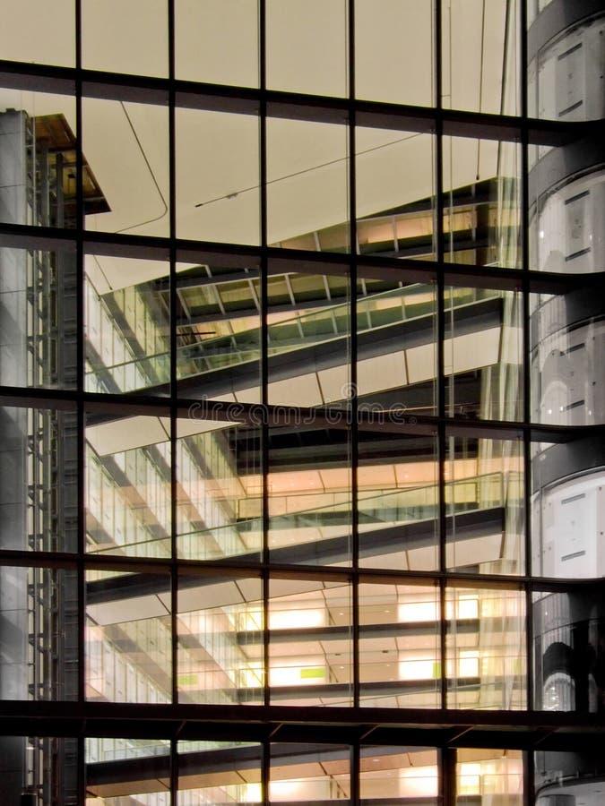 Interiore geometrico fotografia stock libera da diritti