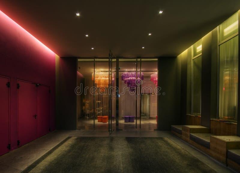 Interiore, Milano fotografia stock