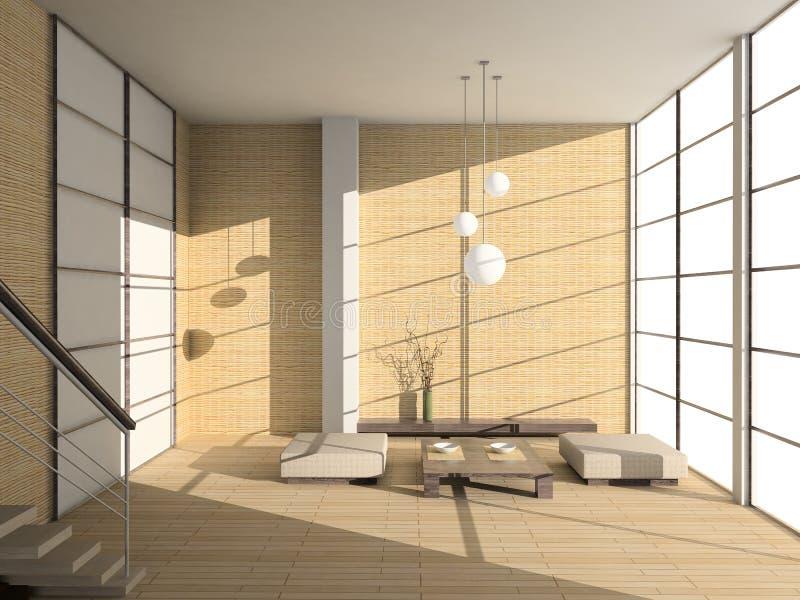 Interiore moderno. fotografie stock libere da diritti