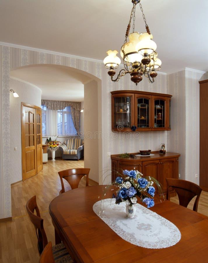 Interiore moderno in casa fotografia stock libera da diritti