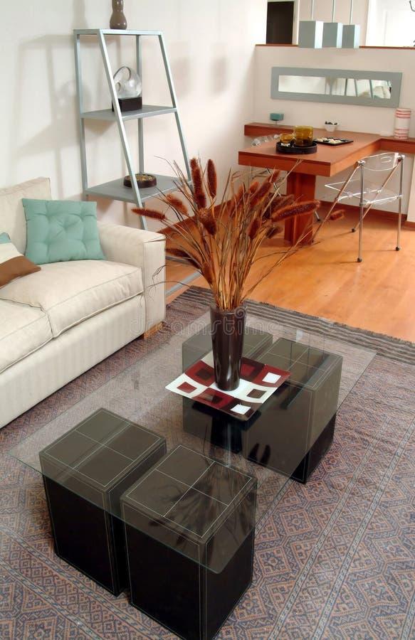 Interiore moderno dell'appartamento immagini stock libere da diritti