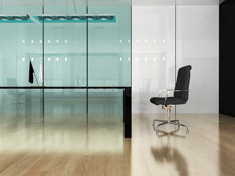 Interiore moderno dell'ufficio fotografie stock