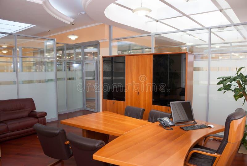 Interiore moderno dell'ufficio fotografia stock