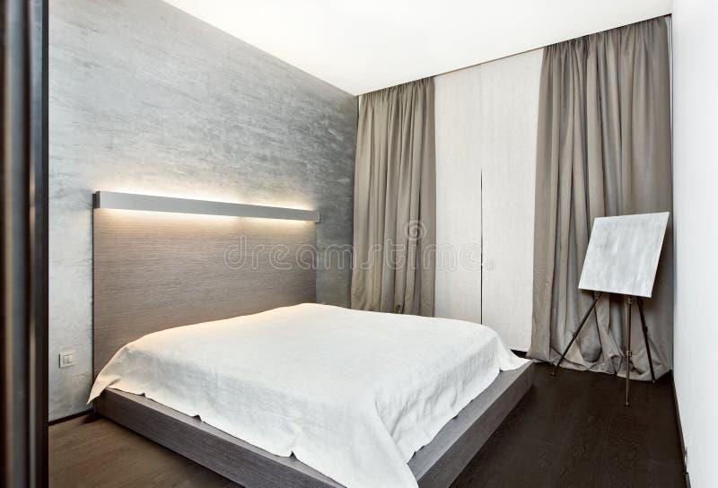 Interiore moderno della camera da letto di stile di for Stile moderno della prateria