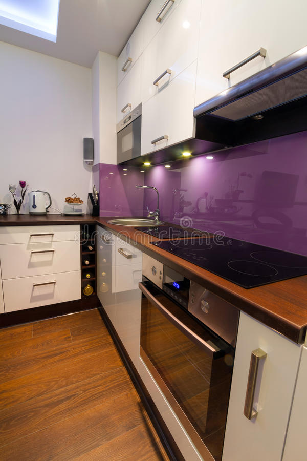 Interiore moderno della cucina