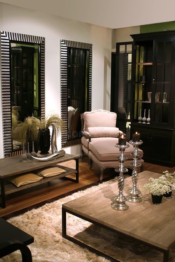 Interiore nello stile classico immagini stock