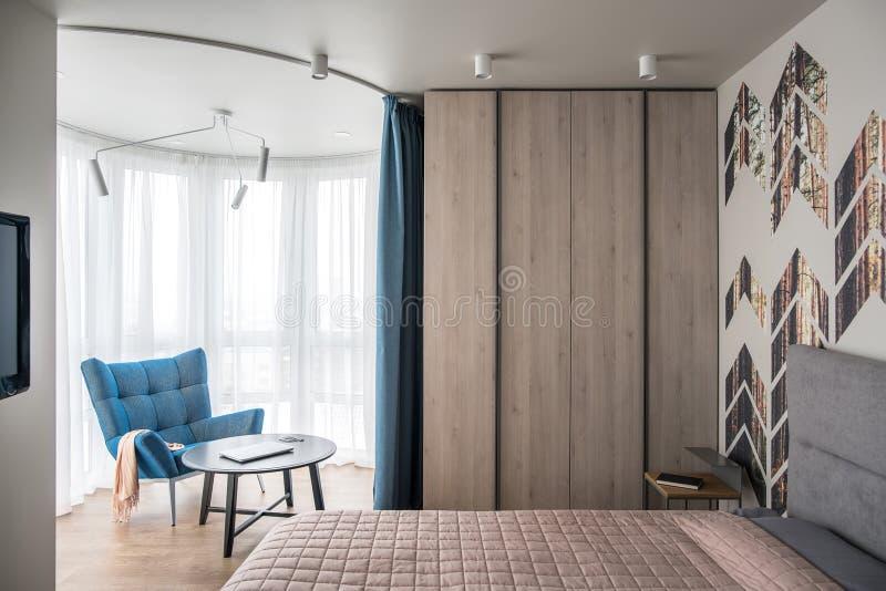 Interiore nello stile moderno fotografie stock libere da diritti
