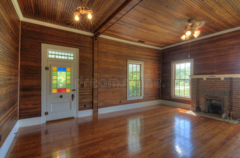 Interiore non ammobiliato fotografia stock