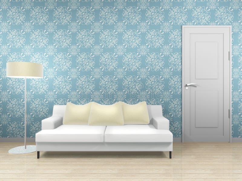 Interiore vivente royalty illustrazione gratis