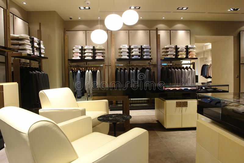 interioren shoppar royaltyfria foton