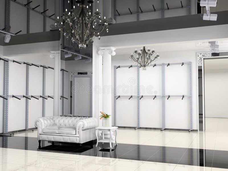 interioren shoppar fotografering för bildbyråer