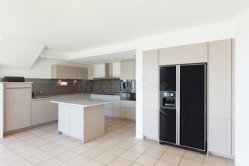 Interiores, cozinha doméstica fotos de stock royalty free