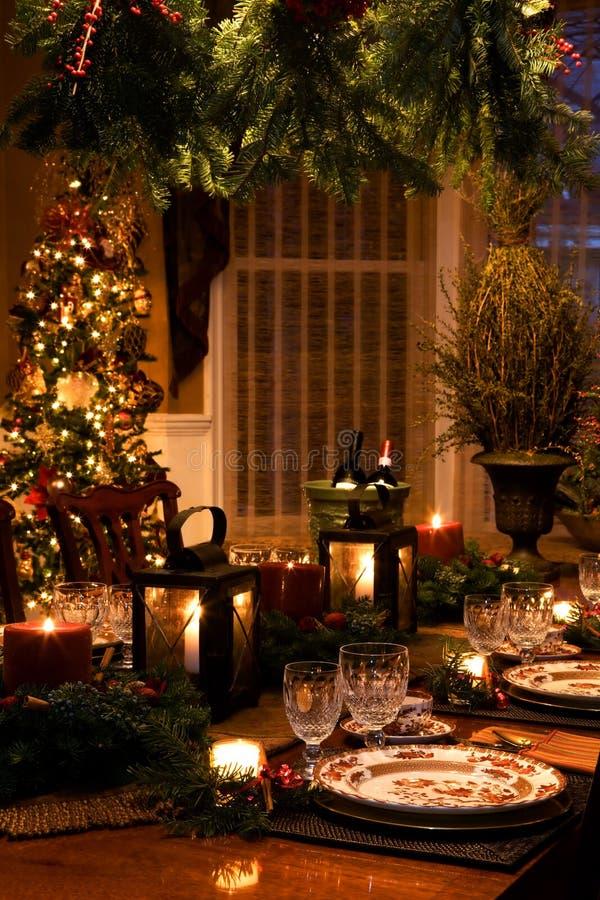 Interiores de la Navidad