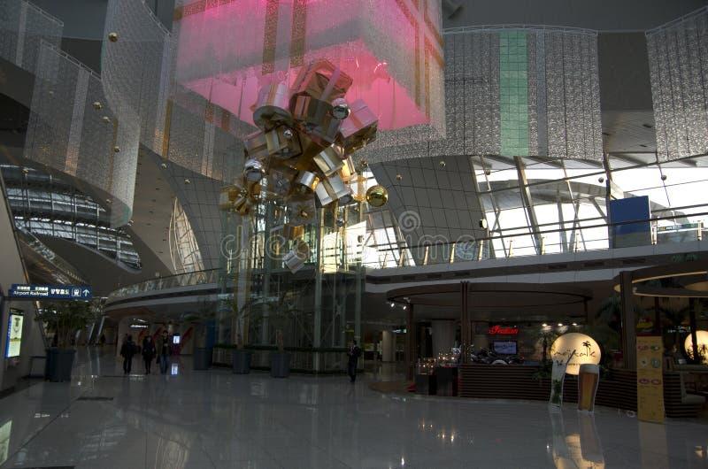 Interiores del aeropuerto de Inchon foto de archivo libre de regalías