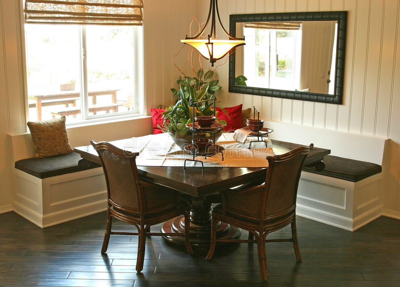 Interiores del hogar modelo foto de archivo