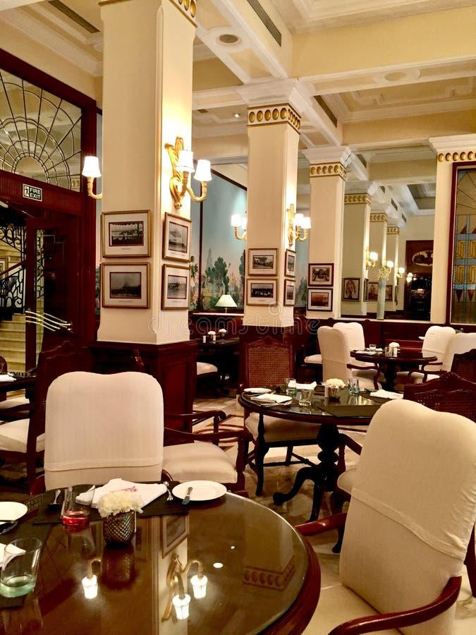 Interiores do hotel imperial, Nova Deli foto de stock royalty free