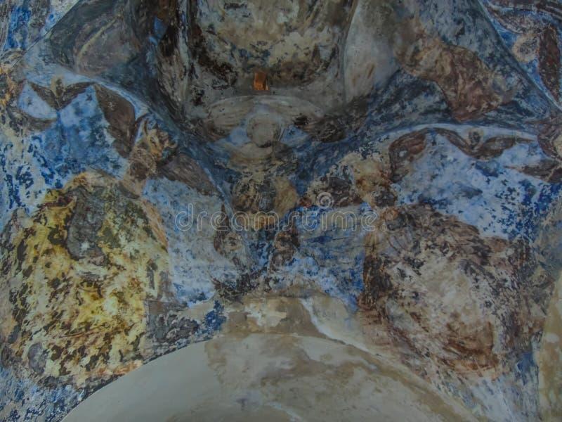 Interiores do monast?rio de St George fotos de stock royalty free